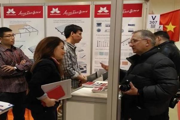 2015年度公司参加俄罗斯莫斯科国际建材展