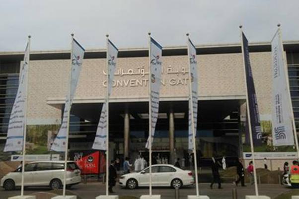 2013--2014年公司两度隆重参加中东迪拜BIG-FIVE五大行业建材展